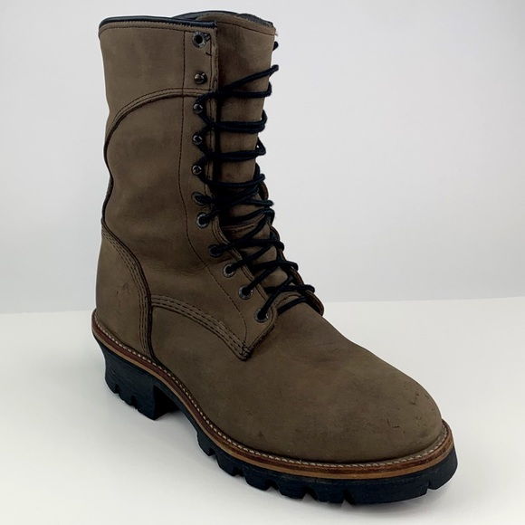 Red Wing Logger Leather Gore Tex